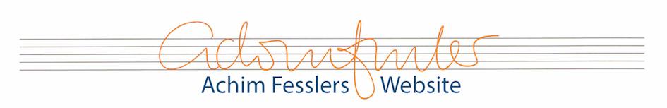 Achim Fesslers Website